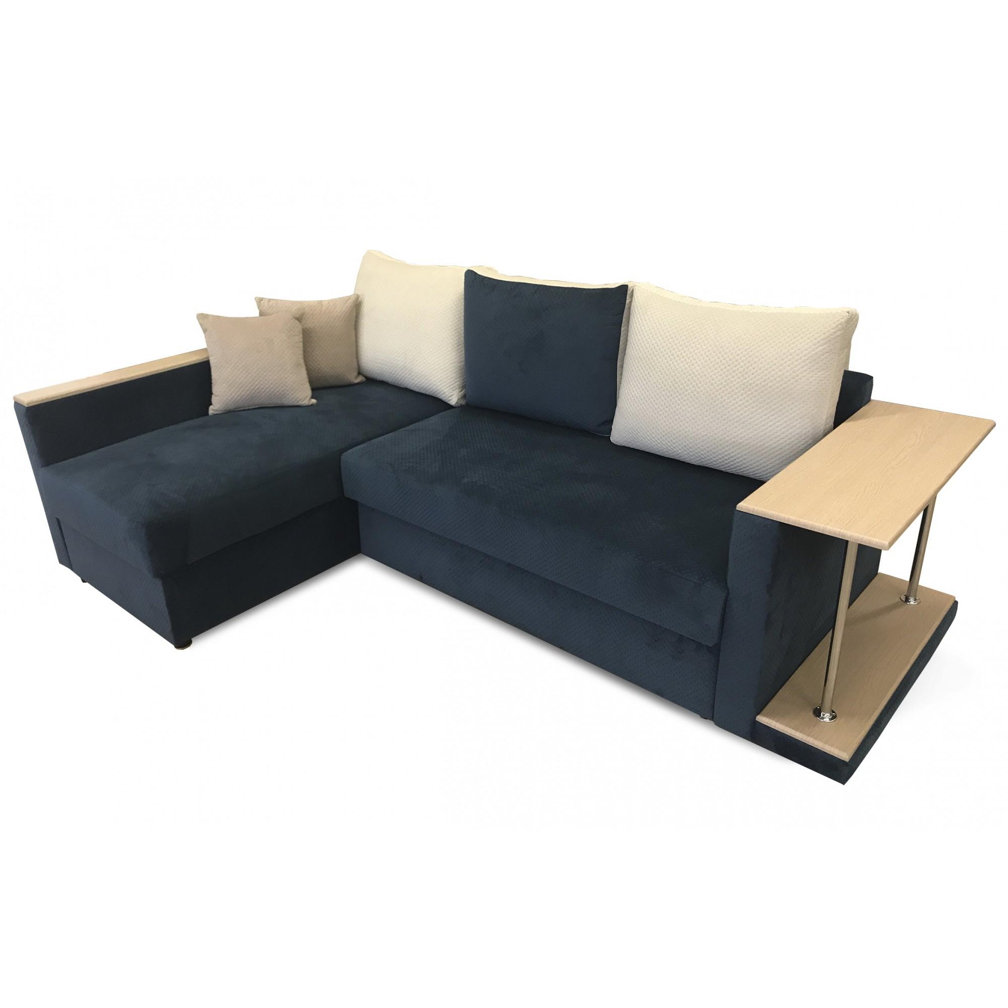 Угловой диван ПОЛО(g) + столик