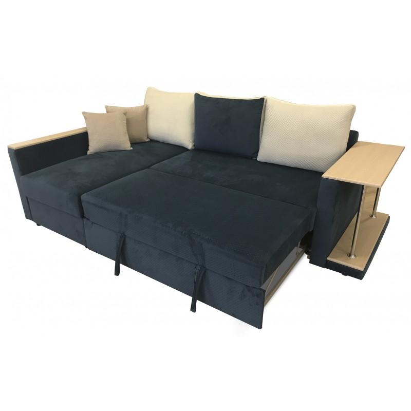 Угловой диван ПОЛО(g) + столи...